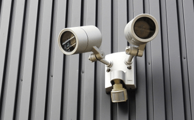住宅防犯のためのカメラ取付例画像1