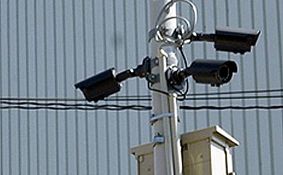 地域の防犯カメラの取付画像1