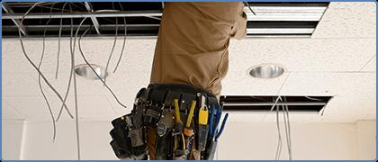 事業所用の電気設備工事